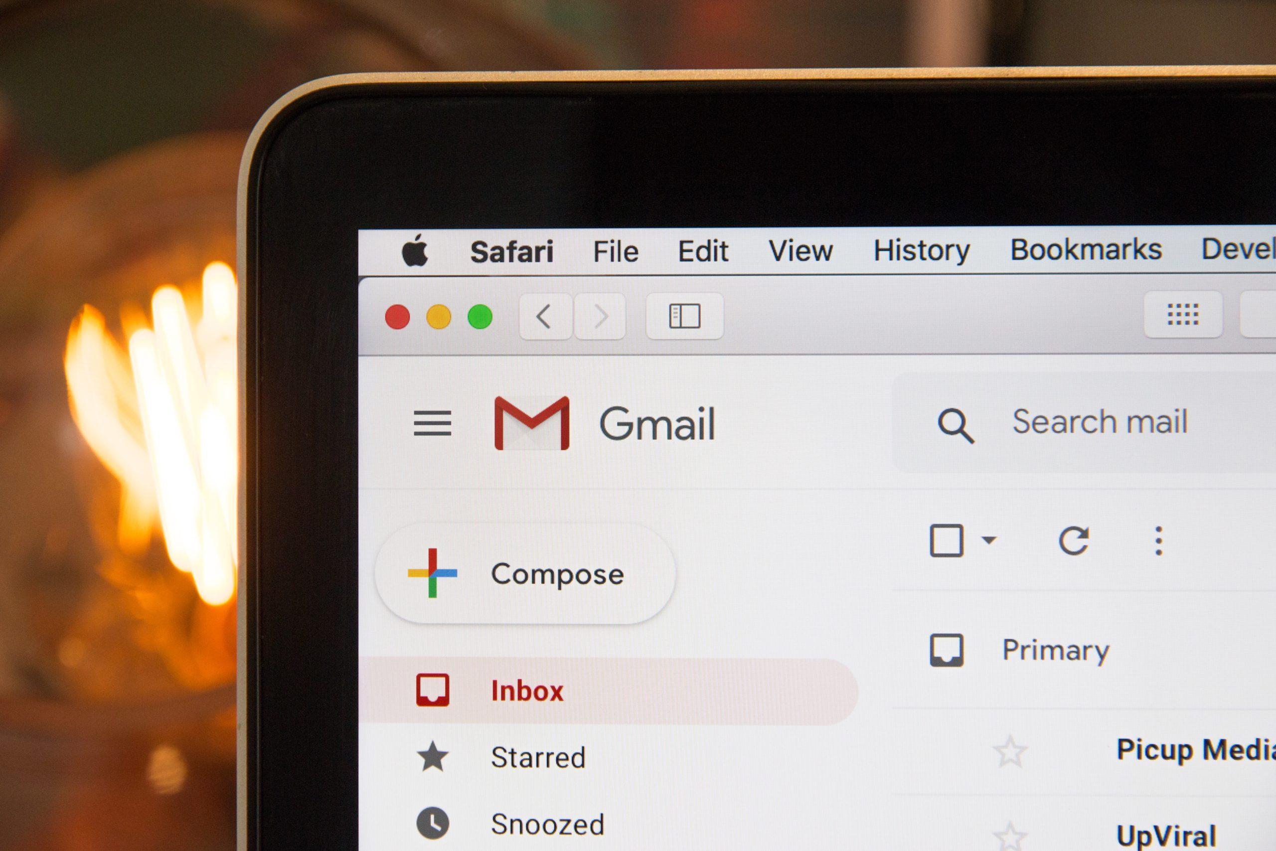 Gmailで他のメールアドレスを使えるようにする。